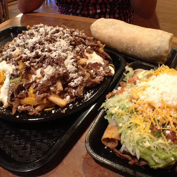2-In-1 Burrito, Super Rolled Tacos, Carne Asada Fries