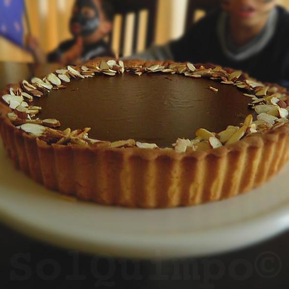 Chocolate and Almond Tart @ Home