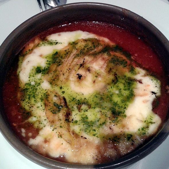 Provolone cheese with tomato jam @ La Tábula de las Descalzas