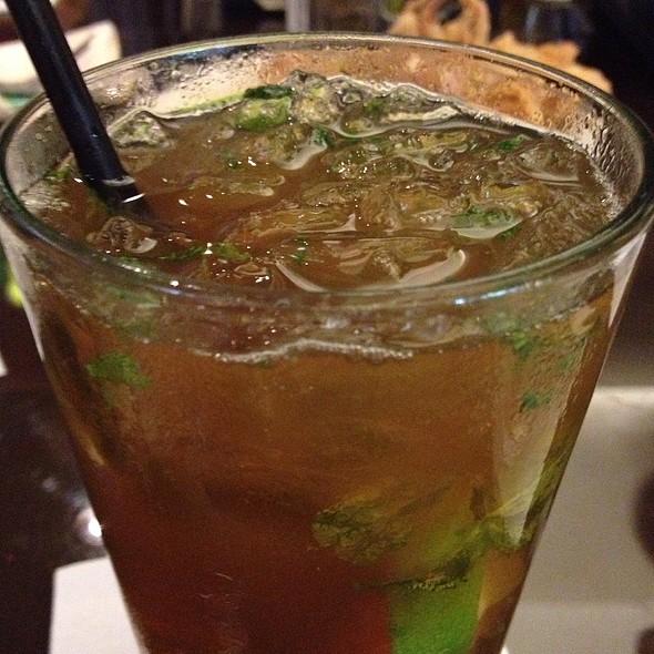 Mint Iced Tea - Bistro Casanova, Kahului, HI
