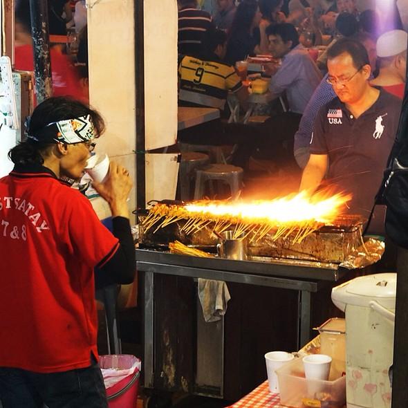 Satay Grill #7 @ Lau Pa Sat Festival Market