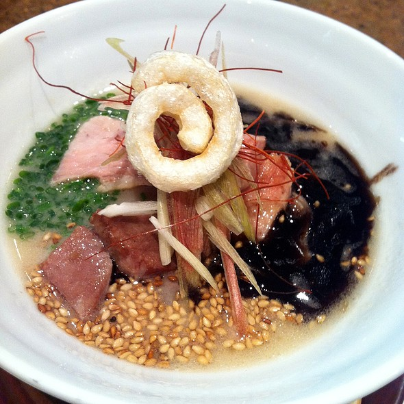 """Three Little Pigs"" Tonkotsu Ramen @ Spago Beverly Hills"
