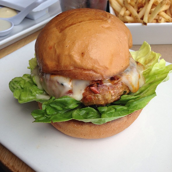 Triple Pork Burger @ Umami Burger