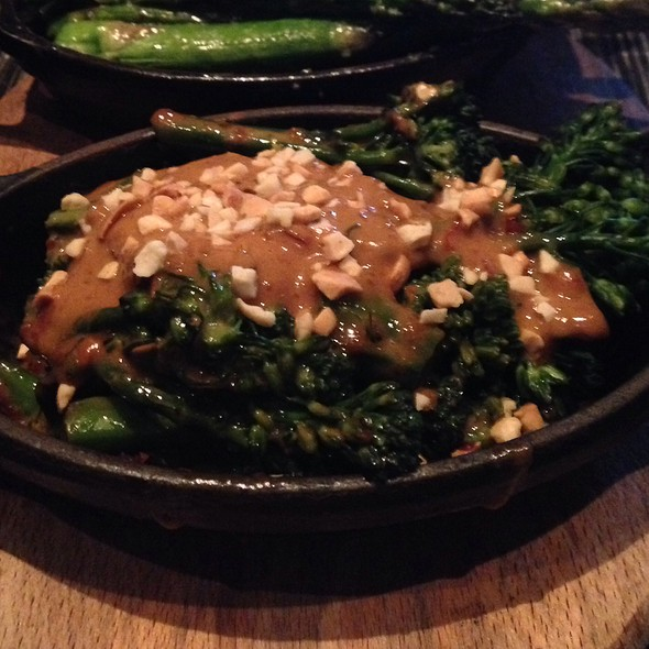 Spicy Peanut Broccolini - e11even, Toronto, ON