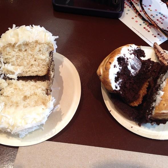 S'mores Cupcake & Lemon Coconut
