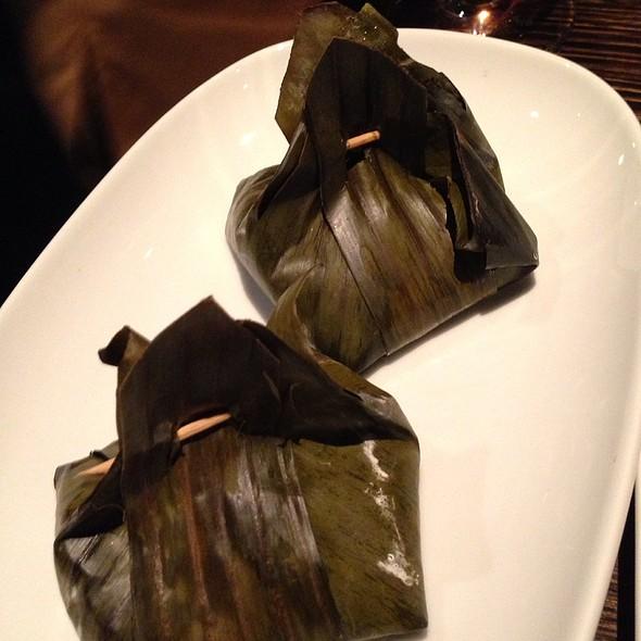 Ho Mok (Steamed Fish Curry Wrapped with Banana Leaf) @ Spice I Am