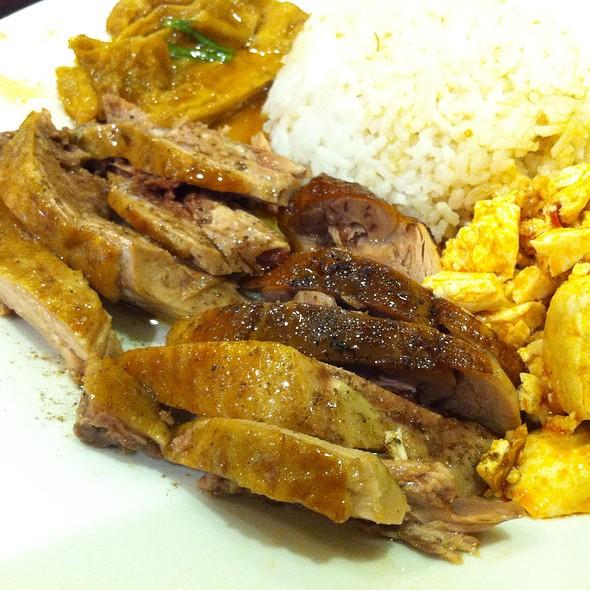 Smoked Duck Rice @ Shun's Smoked Deli