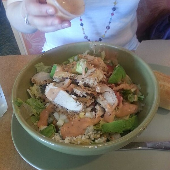 Chicken cobb salad with avocado @ Panera Bread