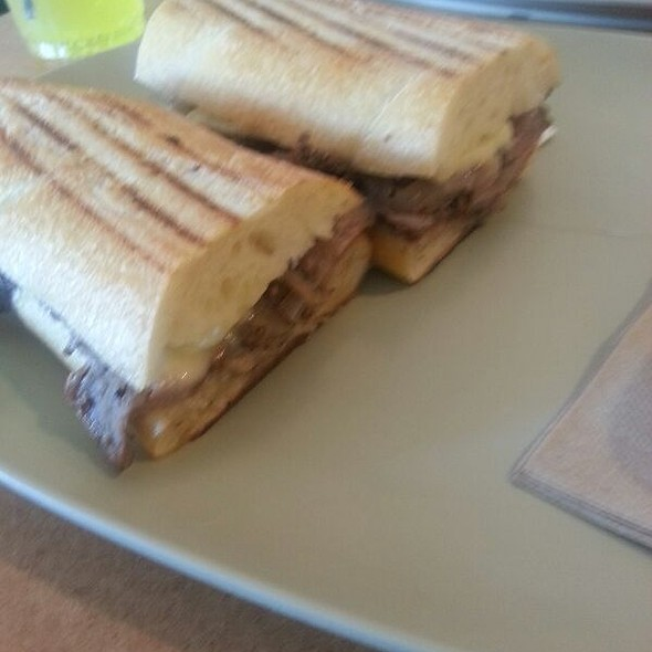 Steak And White Cheddar Panini @ Panera Bread