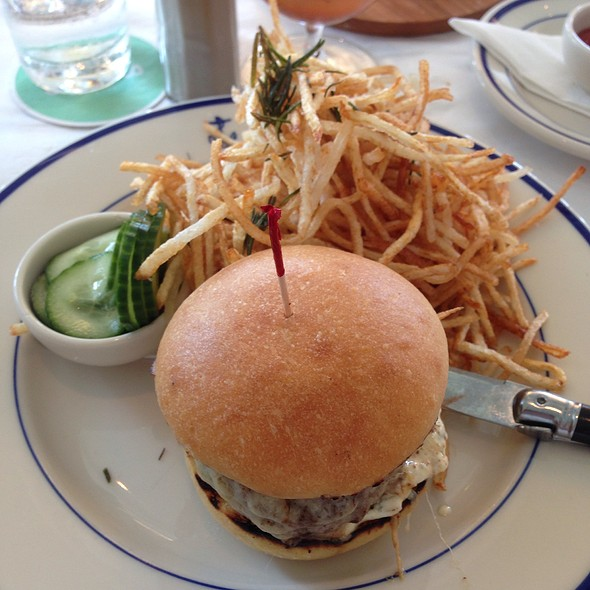 Cheeseburger - Clark's Oyster Bar, Austin, TX