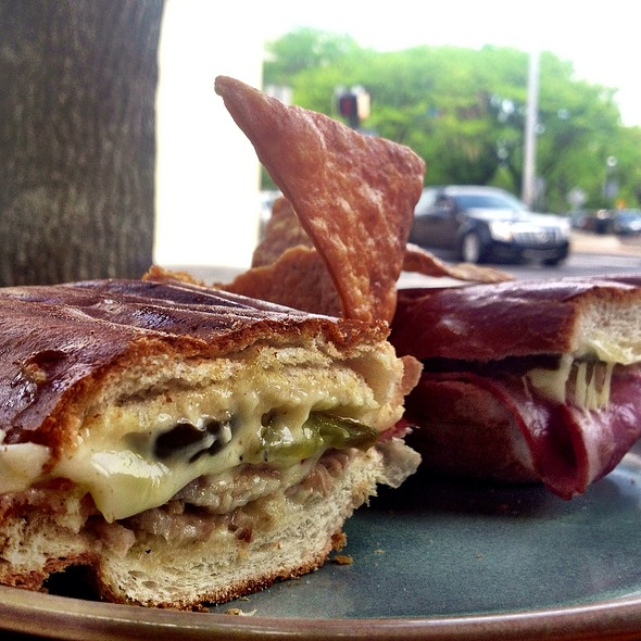 Cuban Press Sandwich @ Lilly's Cafe Americana