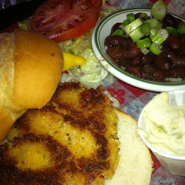 Seafood Cakes @ Dixie Kitchen & Bait Shop