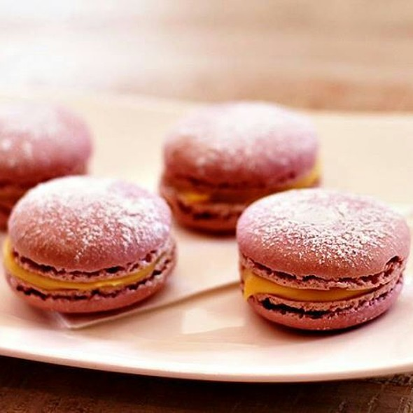 Passionfruit Macarons @ Muse Kitchen