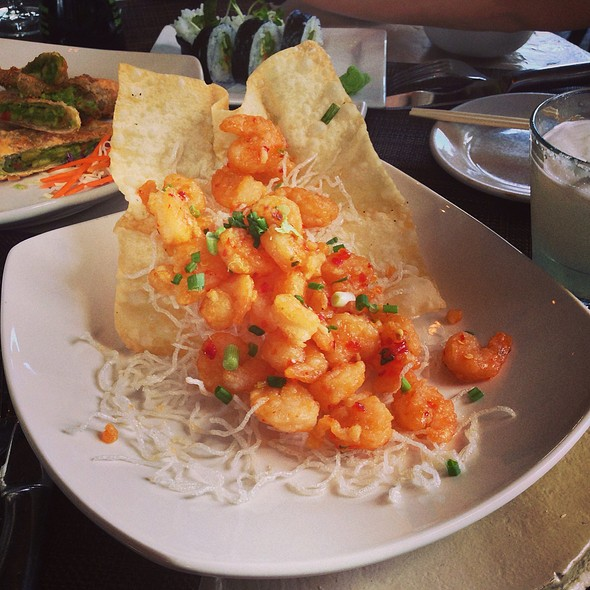Sweet And Spicy Shrimp @ Kona Grill