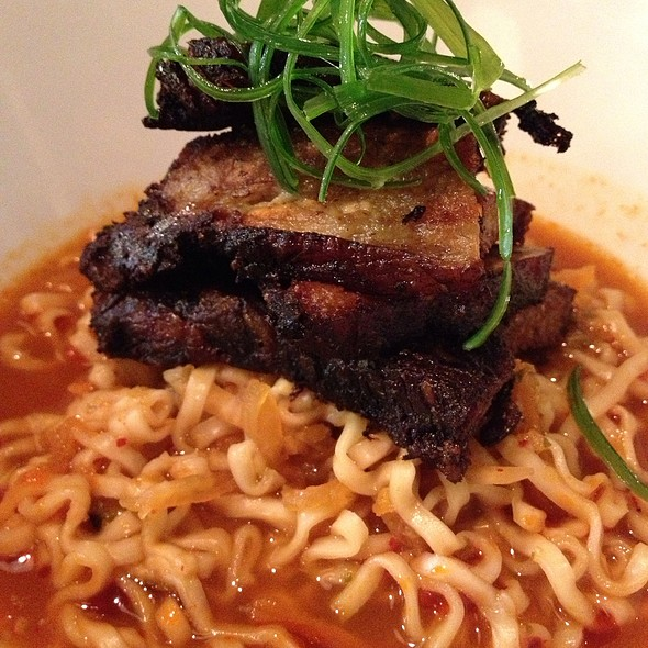 Pork Belly And Kimchi With Ramen @ Kimbap