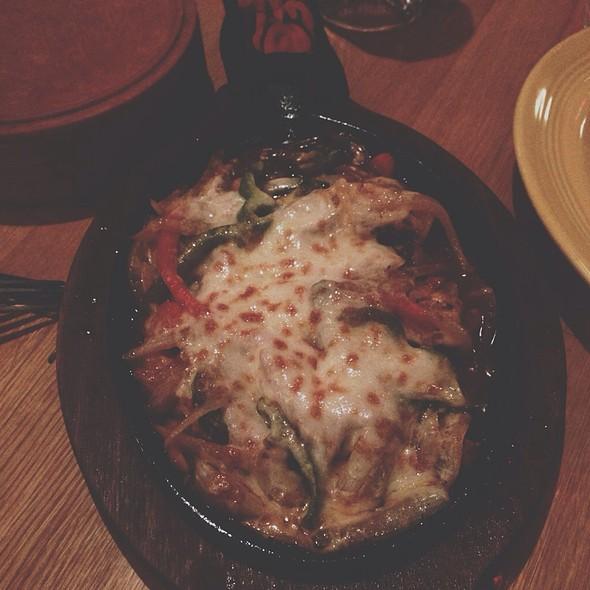 Chicken Fajitas Picado Style @ Miguel's Cantina