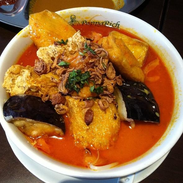 Vegetarian Curry Laksa @ Papparich Doncaster