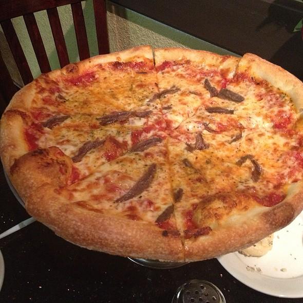 Cheese Pizza @ Valentino's Italian Cuisine