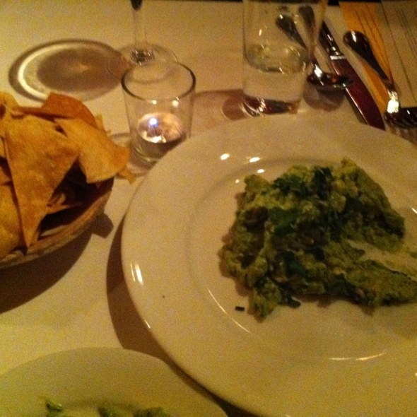 Guacamole and Chips @ River Tavern