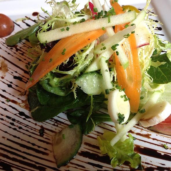 Aromatic Salad Smoked Mozzarella Pearls - La Panetiere, Rye, NY