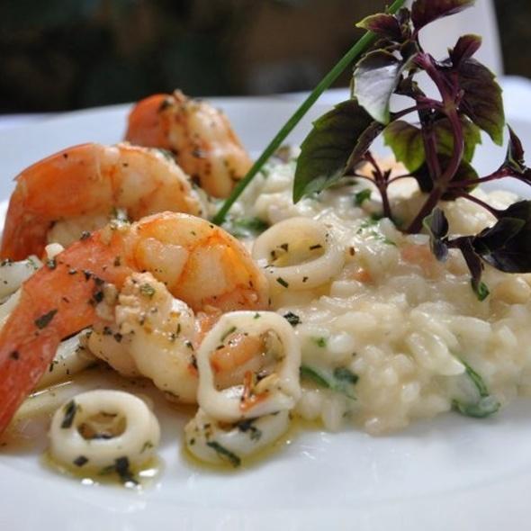 Camarões E Lulas com Risoto Picante @ Apriori Cucina Italiana