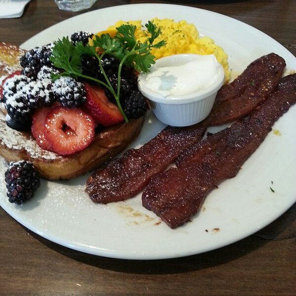 Marnier French Toast w Millionaire's Bacon @ Sweet Maple