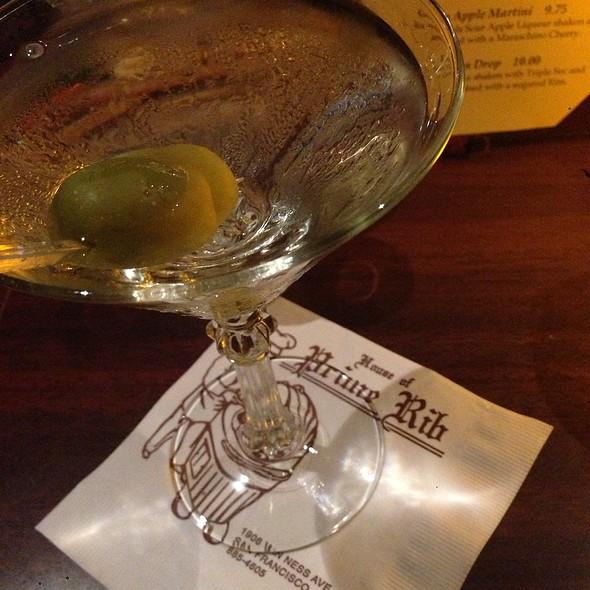 Gin Martini @ House of Prime Rib