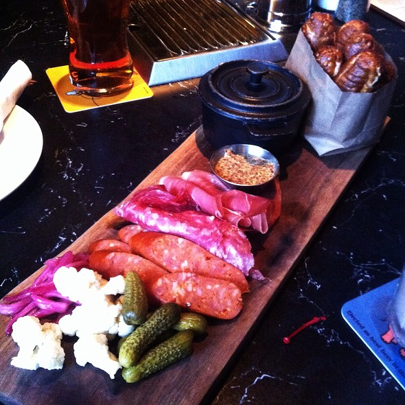 Warm Pretzels, Cheese Dip & Butcher Board - Beertown Public House - Waterloo, Waterloo, ON