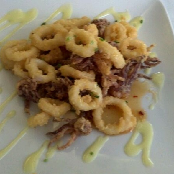 Calamari With Red Pepper Infused Honey @ On the Square