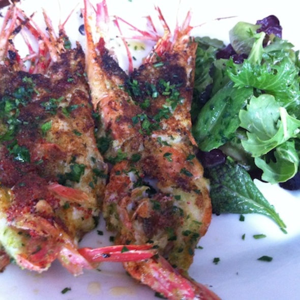 Broiled South African Shrimps @ Angelini Osteria Restaurant