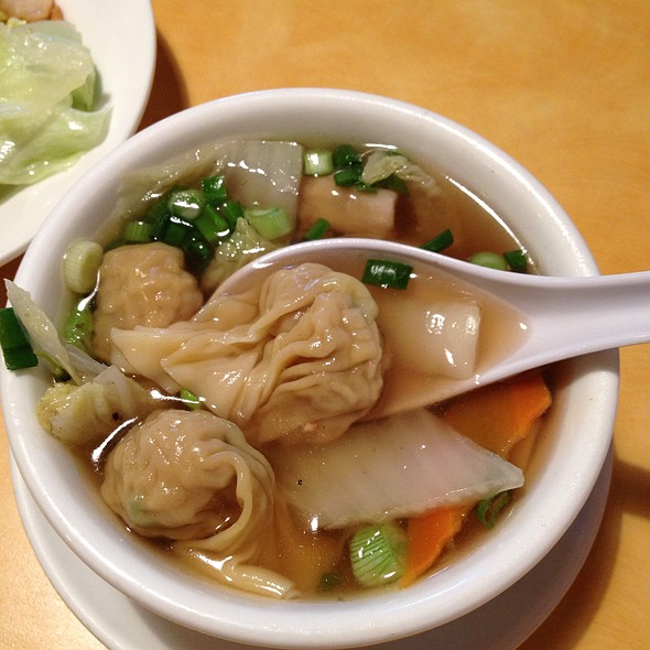 Won Wonton Soup @ Chefs Chinese Food