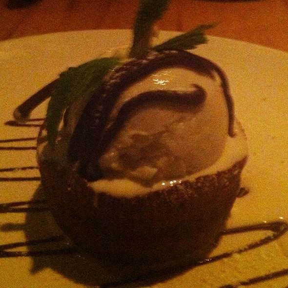 Molten Chocolate Cake - Da Marcella, New York, NY