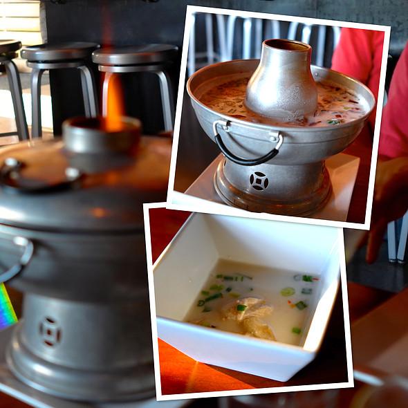 Chicken Mushroom Coconut Soup - Soi4 Bangkok Eatery - Scottsdale, Scottsdale, AZ