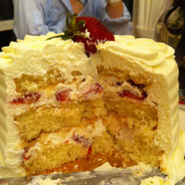 Whole Food Strawberry Chiffon Cake