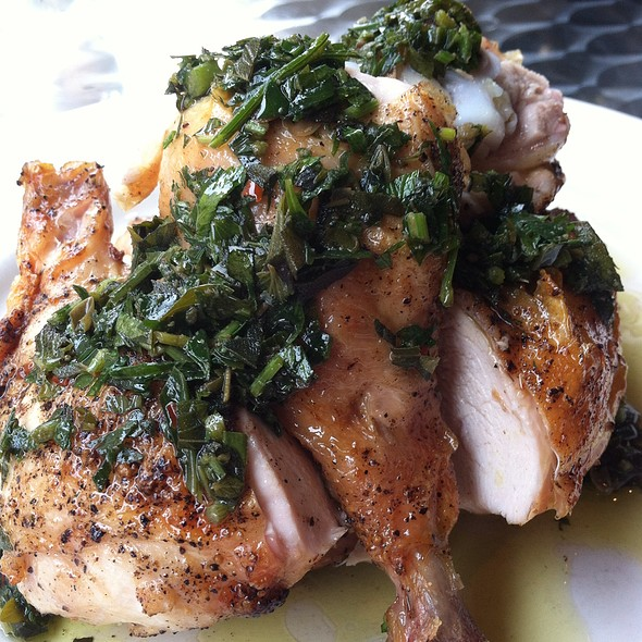 Roasted Chicken With Salsa Verde - Barbuto, New York, NY