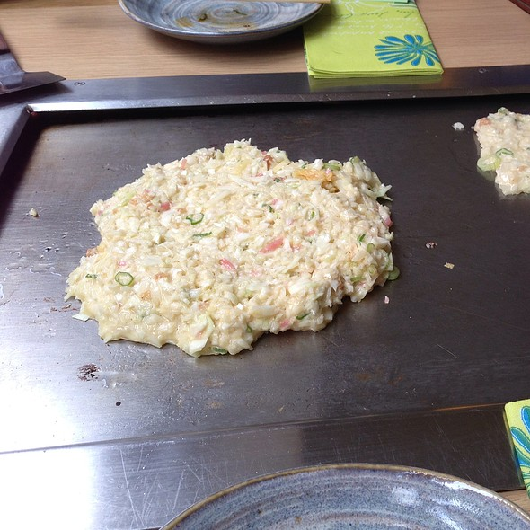 Okonomi Yaki @ Abeno Too