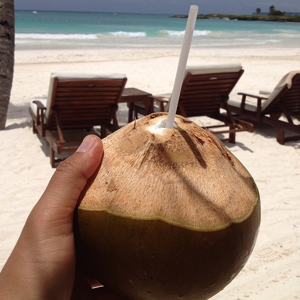 Coconut Water @ Caleton Beach Club