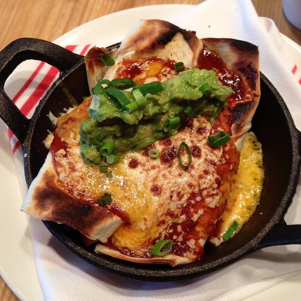 Braised Short Rib Enchiladas @ The Meeting House