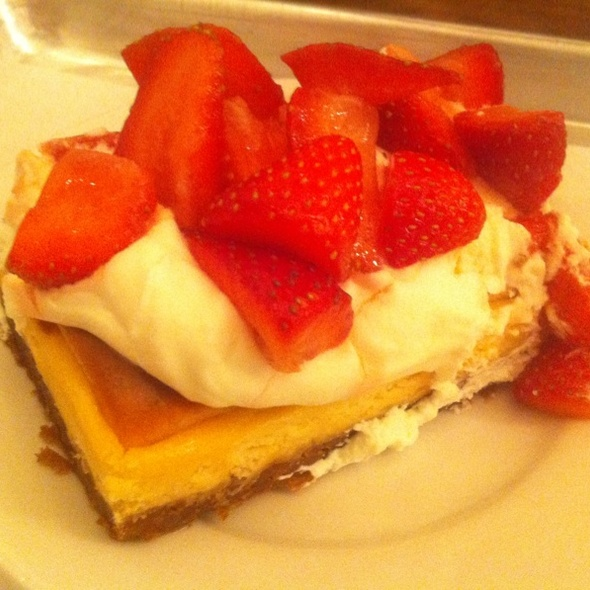Strawberry-ricotta Cheesecake @ Forage