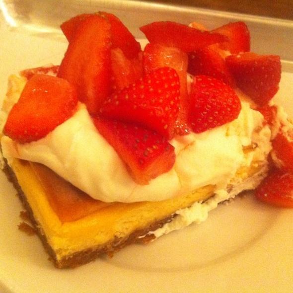 Strawberry-ricotta Cheesecake @ Forage