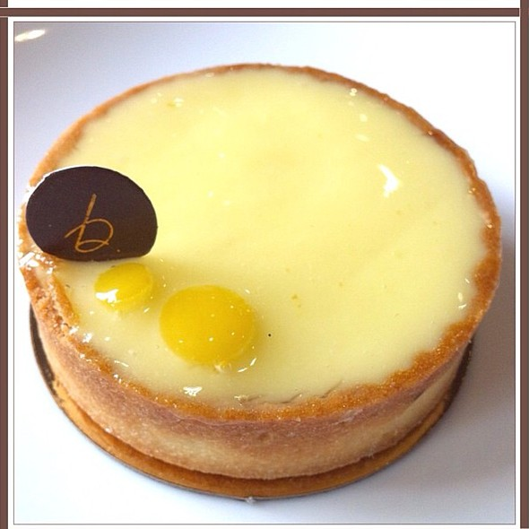 lemon tart @ b. patisserie