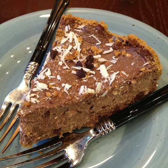 Chocolate Pie @ Evil Eye Cafe