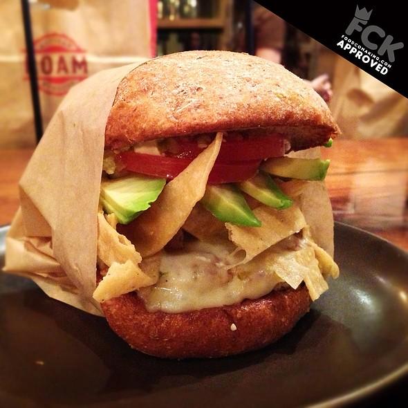 Tejano Burger @ Roam Artisan Burgers