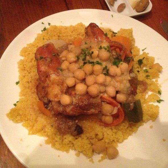 Chicken Couscous - Hummus Kitchen, New York, NY