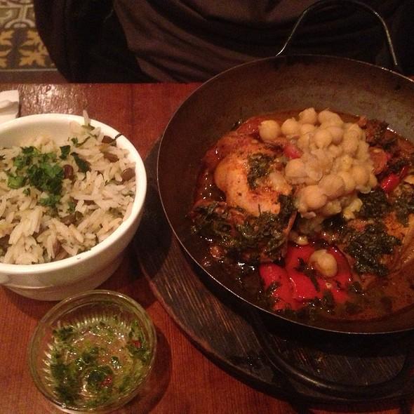 Mediterranean Red Chicken - Hummus Kitchen, New York, NY