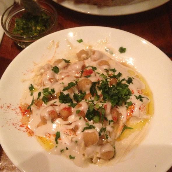 Chickpea Hummus - Hummus Kitchen, New York, NY