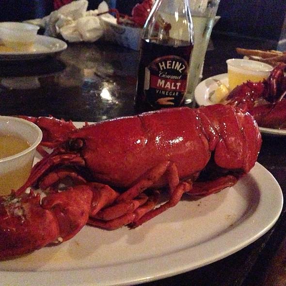 Whole Maine Lobster @ James Joyce Irish Pub