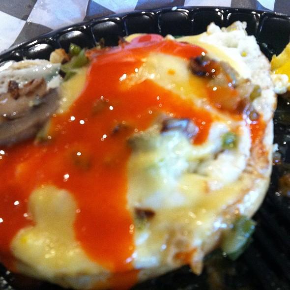 Cafe Breakfast Sandwich @ Gordon Biersch Brewery Restaurant