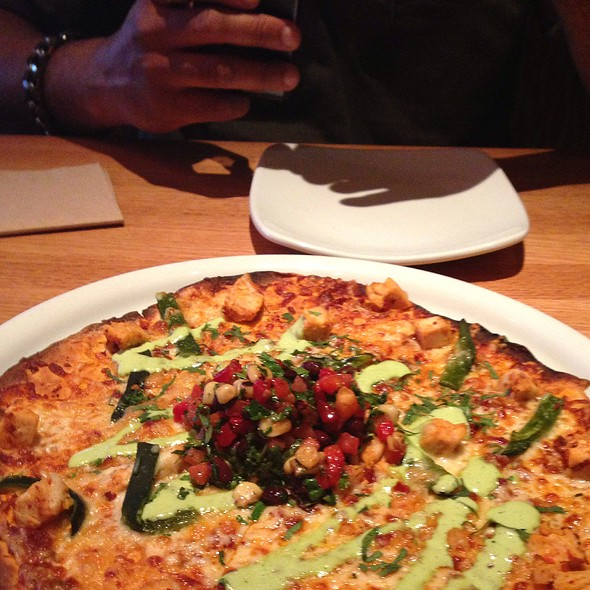 Spicy Chipotle Chicken Pizza @ California Pizza Kitchen