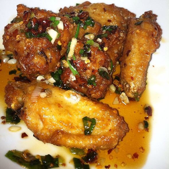 Korean Fried Chicken Wings @ YUKI HANA Japanese Restaurant